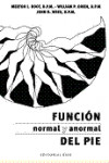 FUNCION NORMAL Y ANORMAL DEL PIE | 9788493916169 | Portada
