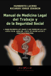 Manual de medicina legal del trabajo y la seguridad social | 9789871573066 | Portada