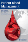 PATIENT BLOOD MANAGEMENT | 9783132004412 | Portada