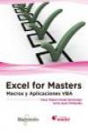 EXCEL FOR MASTERS. MACROS Y APLICACIONES VBA - 9788426723291 - Libros de informática