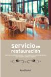 Servicio en restauración - 9788416433810 - Libros de cocina