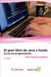 EL GRAN LIBRO DE JAVA A FONDO - 9788426723246 - Libros de informática