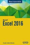 Excel 2016 - 9788441538023 - Libros de informática