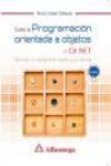 CURSO DE PROGRAMACIÓN ORIENTADA A OBJETOS CON C# .NET - 9788426723673 - Libros de informática