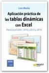 Aplicación práctica de las tablas dinámicas con Excel - 9788416115969 - Libros de informática