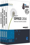 Microsoft Office 2016. Pack 4 libros: Word, Excel, PowerPoint y Outlook | 9782409003370 | Portada