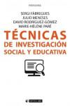 Técnicas de investigación social y educativa - 9788491163251 - Libros de psicología