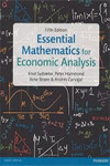 ESSENTIAL MATHEMATICS FOR ECONOMIC ANALYSIS | 9781292074610 | Portada