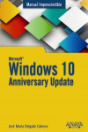 Windows 10 Anniversary Update | 9788441538399 | Portada