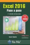 EXCEL 2016 PASO A PASO - 9788499646619 - Libros de informática