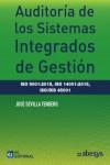 AUDITORIA DE LOS SISTEMAS INTEGRADOS DE GESTION ISO 9001:2015, ISO 14001:2015, ISO/DIS 45001 - 9788416671182 - Libros de ingeniería