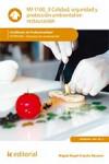 Calidad, seguridad y protección ambiental en restauración - MF1100_3 - 9788416758685 - Libros de cocina