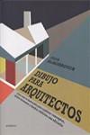 DIBUJO PARA ARQUITECTOS - 9788416504671 - Libros de arquitectura