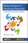 META-ANALYSIS IN PSYCHIATRY RESEARCH. FUNDAMENTAL AND ADVANCED METHODS | 9781771883764 | Portada