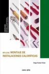 Montaje de instalaciones caloríficas MF1156 - 9788416338849 - Libros de ingeniería