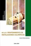 Mantenimiento de instalaciones caloríficas MF1157 - 9788416338825 - Libros de ingeniería