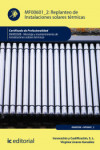 Replanteo de instalaciones solares térmicas MF0601_2 - 9788417026974 - Libros de arquitectura