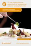 Supervisión en el desarrollo de las preparaciones culinarias hasta su finalización UF1360 - 9788417086022 - Libros de cocina