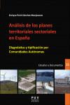 ANÁLISIS DE LOS PLANES TERRITORIALES SECTORIALES EN ESPAÑA - 9788491340775 - Libros de arquitectura