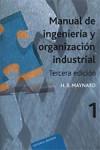 Manual de ingeniería y organización industrial. Vol. 1 - 9788429128017 - Libros de ingeniería