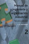 Manual de ingeniería y organización industrial. Vol. 2 - 9788429128024 - Libros de ingeniería