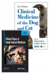 CLINICAL SIGNS IN SMALL ANIMAL MEDICINE 2ª ED. + CLINICAL MEDICINE OF THE DOG AND CAT 3ª ED. (PACK) | 9781138726864 | Portada