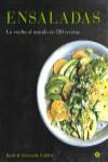 ENSALADAS. LA VUELTA AL MUNDO EN 120 RECETAS - 9788416407255 - Libros de cocina