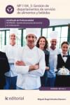Gestión de departamentos de servicio de alimentos y bebidas MF1104_3 - 9788417026509 - Libros de cocina