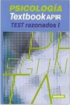 Textbook APIR Psicología. Test razonados I | 9788416042838 | Portada