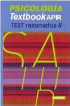 Textbook APIR Psicología. Test razonados II | 9788416042845 | Portada