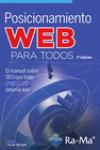 POSICIONAMIENTO WEB PARA TODOS - 9788499647340 - Libros de informática