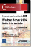 Windows Server 2016 - Gestión de las identidades | 9782409013881 | Portada