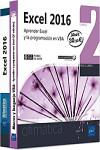 Excel 2016.  Pack de 2 libros: Aprender Excel y la programación en VBA - 9782409014307 - Libros de informática