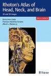 Rhoton's Atlas of Head, Neck and Brain. 2D and 3D Images + E-Content | 9781604069006 | Portada