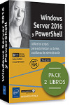Windows Server 2016 y PowerShell - Pack de 2 libros | 9782409019975 | Portada