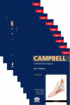 CAMPBELL Ortopedia Quirúrgica, 9 Vols. + E-Book y Videos | 9781852694760 | Portada