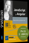 JavaScript y Angular. Pack de 2 libros: desarrolle sus páginas web | 9782409026171 | Portada