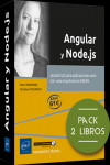 Angular y Node.js. Pack de 2 libros: JavaScript para aplicaciones web con una arquitectura MEAN | 9782409028489 | Portada
