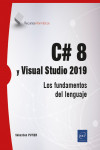 C# 8 y Visual Studio 2019 | 9782409029196 | Portada